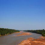 Der Red River bildet die Grenze zwischen Texas und Oklahoma und war früher sogar die Grenze zwischen Mexiko und den United States.